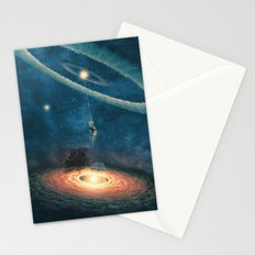 My dream house is in another galaxy Stationery Cards