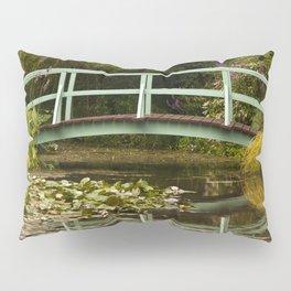 Monet Bridge Reflected Pillow Sham