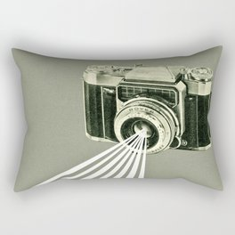 Depth of Field Rectangular Pillow