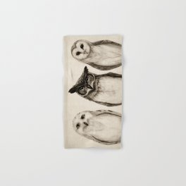 The Owl's 3 Hand & Bath Towel