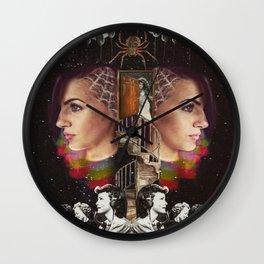 Spiderwebs Wall Clock