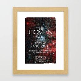 The Coven Framed Art Print