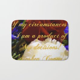 Flowering Thoughts Bath Mat