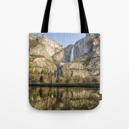 Yosemite Falls on View Tote Bag