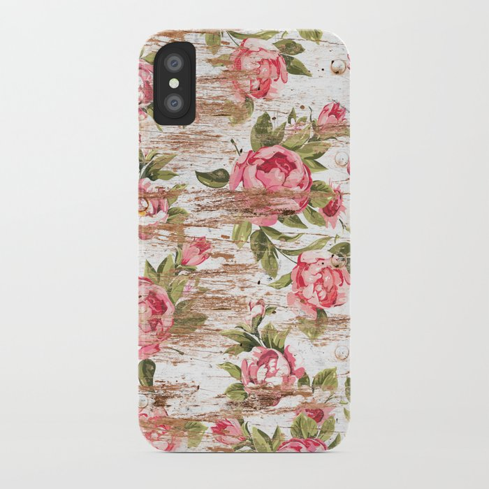 Eco Love Pattern iPhone Case