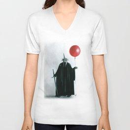 Want A Balloon? Unisex V-Neck