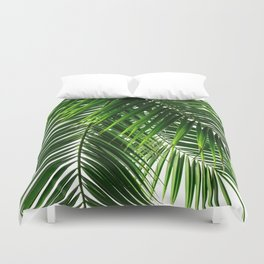 Palm Leaves #3 Duvet Cover