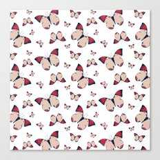 Spring Butterfly (Pattern) Canvas Print
