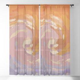 BEGINNING Sheer Curtain