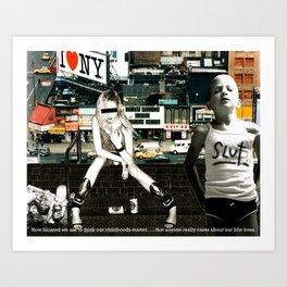 NYC 1995 Art Print