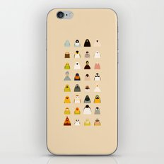 All birds - tori no iro iPhone & iPod Skin