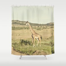 crossing::kenya Shower Curtain