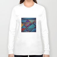 urban Long Sleeve T-shirts featuring Urban by Julia Tomova