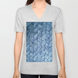 Ocean Blue Shell Unisex V-Neck