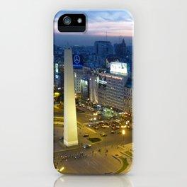 Buenos Aires Obelisco iPhone Case