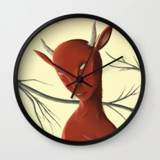Satyre Wall Clock