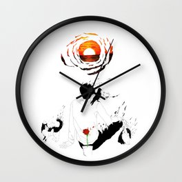Last Sunset Wall Clock