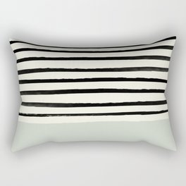 Coastal Breeze x Stripes Rectangular Pillow
