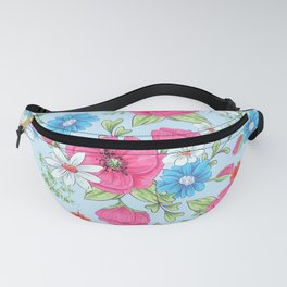 Spring roses 557 Fanny Pack