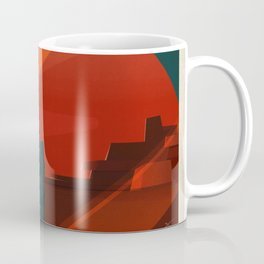 SpaceX Mars tourism poster / DP Coffee Mug