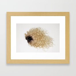Wig Framed Art Print