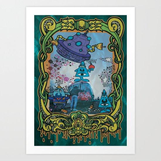 Bombing Jam! Art Print