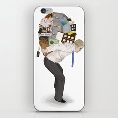 The Weight of Technology #2 iPhone & iPod Skin