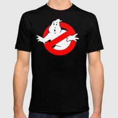 Ghostbusters Black Mens Fitted Tee MEDIUM
