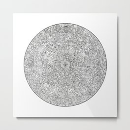 The Inner Hive Metal Print