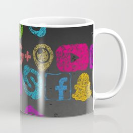 Social Me Coffee Mug