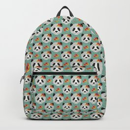 Tropical Panda Backpack
