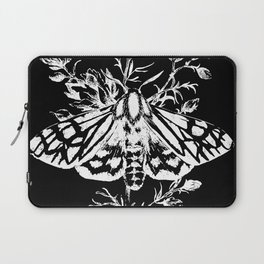 butterfly black Laptop Sleeve