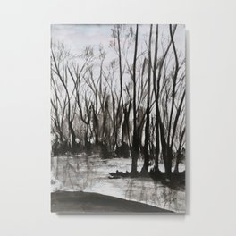 Brent skog - Gerlinde Streit Metal Print
