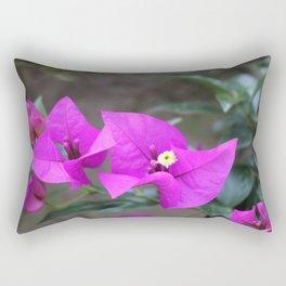 Purple Shining Through Rectangular Pillow