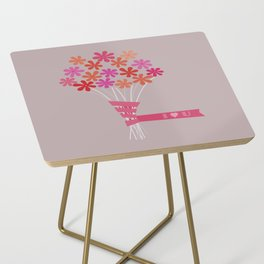 Flowers for You Side Table