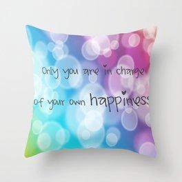 Charisma Bokeh Throw Pillow