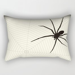 Scary spider Rectangular Pillow