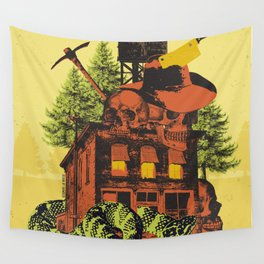 OLD TIMEY DARKNESS Wall Tapestry