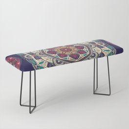 Colorful Mandala Pattern 007 Bench