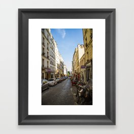 Montmartre series 5 Framed Art Print