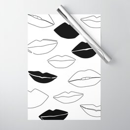 Dark Kisses Wrapping Paper