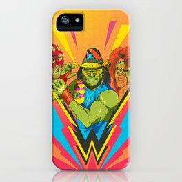 Classic Wrestling iPhone Case