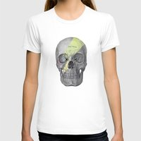 aladdin T-shirts featuring Aladdin Sane Skull by Computarded