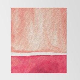 Sea Dusk Throw Blanket