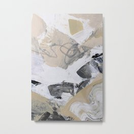 abstract painting - neutral tones Metal Print