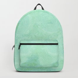 Blue Gray Cotton Fluff Backpack