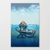 nemo Canvas Prints featuring Nemo by Tony Vazquez