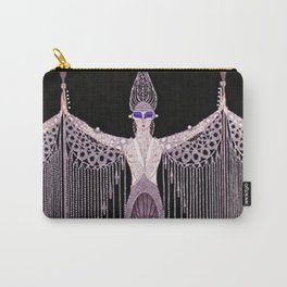 """Art Deco Illustration """"Pearls"""" by Erté Carry-All Pouch"""