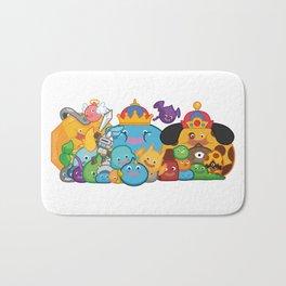 Slime Family Bath Mat