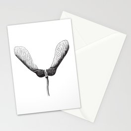 Maple Seed Helicopter Stationery Cards
